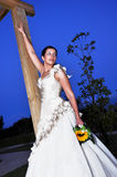 Bride at night Royalty Free Stock Photo