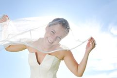 Bride outdoor Stock Photos