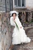 bride outdoor Stock Image