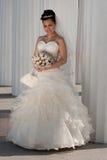 Bride outdoors Royalty Free Stock Photos