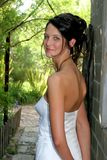 Bride Outside Stock Images