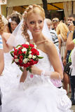Bride parade Royalty Free Stock Photography