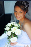 bride portrait 免版税库存图片