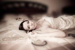 Bride portrait Stock Photo