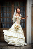 Bride portrait royalty free stock image