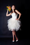 Bride portrait in studio Stock Photo