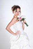 Bride portrait in studio Stock Photography