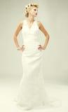Bride portrait.Wedding dress. Stock Photo