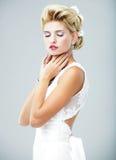 Bride portrait.Wedding dress. Royalty Free Stock Photography