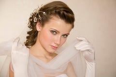 Bride portret Stock Images
