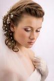Bride portret close-up Stock Photo