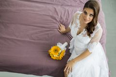The bride Royalty Free Stock Photo