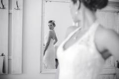 Bride posing Royalty Free Stock Image