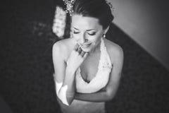 Bride posing Royalty Free Stock Photos