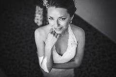 Bride posing Stock Images
