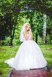 Bride posing Stock Photography