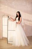 Bride posing in studio Stock Photography
