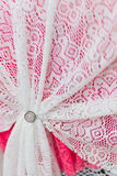 Bride pour des rideaux Image stock