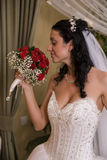 Bride profile Royalty Free Stock Photo