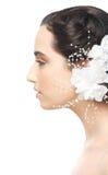 Bride Profile Portrait Royalty Free Stock Images