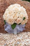 Bride roses bouquet Royalty Free Stock Image