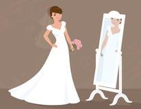 Bride's Big Day Stock Image