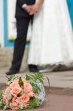 Bride's bouquet Stock Images
