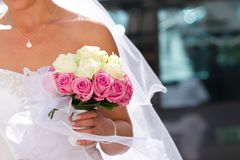 Bride's Bouquet Stock Images