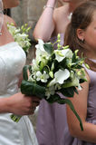 Brides Bouquet Flowers Wreath Wedding Stock Photos