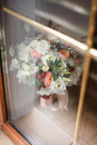 Bride's bouquet background Royalty Free Stock Photos