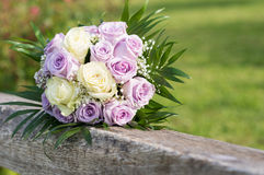 Bride's Bouquet of Flowers royalty free stock images