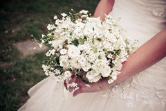 A bride's bouquet Royalty Free Stock Photos