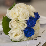 A bride's bouquet made of roses Stock Image
