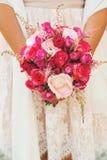 Bride`s bouquet stock photo