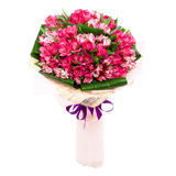 Bride's bouquet tulips Royalty Free Stock Images