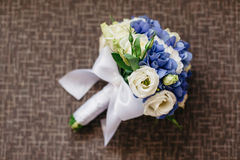 The bride's bouquet. Wedding day Stock Photo