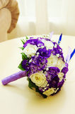 Bride's bouquet in wedding day Stock Image
