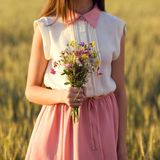 Bride`s bouquet royalty free stock photography