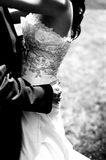 Bride's dress Stock Photography