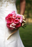 Bride's dress Royalty Free Stock Images