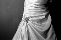 Bride's dress Royalty Free Stock Image