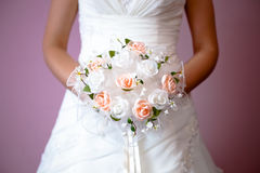 Bride`s flovers Royalty Free Stock Image