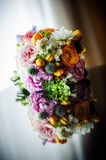 Bride's flower bouquet Royalty Free Stock Photo