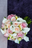 Bride's flowers Royalty Free Stock Image