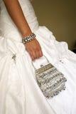 Bride's handbag Royalty Free Stock Image