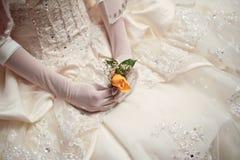 Bride's Little Flower Stock Photo