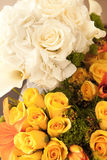 Bride's and Maid Of Honors Bouquet Royalty Free Stock Photography