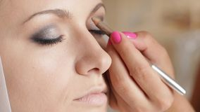 Bride'S Make Up stock footage