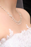 Bride`s necklace Stock Images