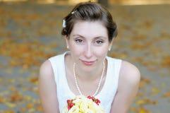 Bride's portrait Stock Photo